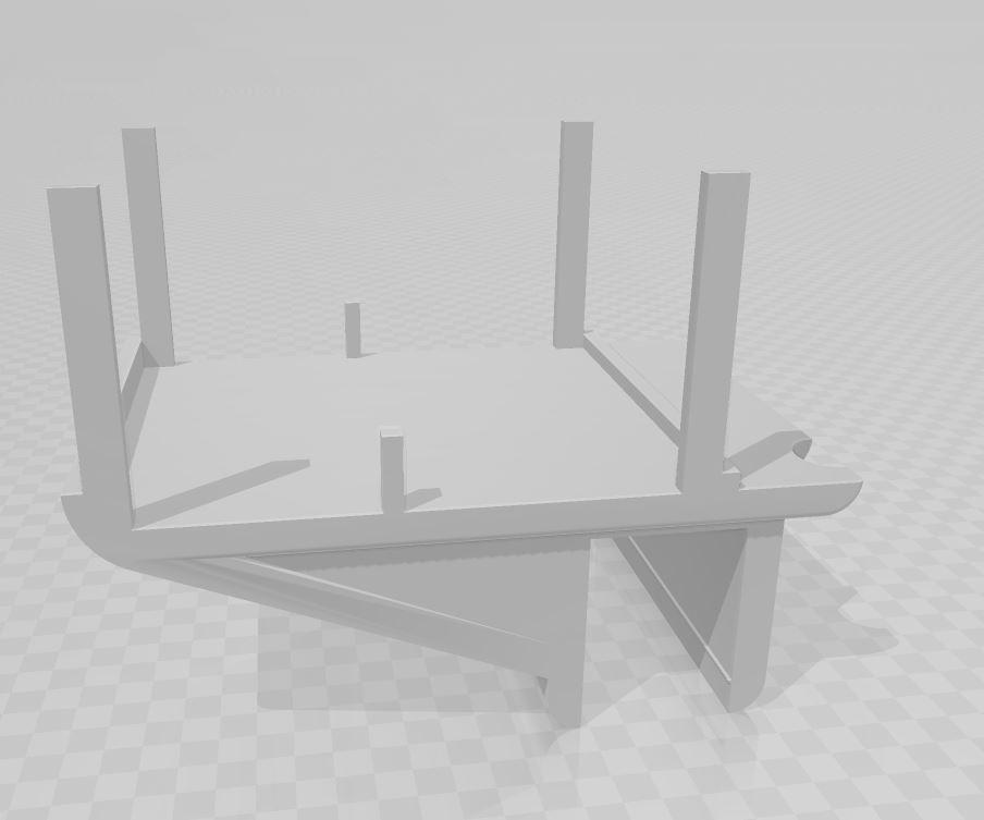 img plan.JPG Download STL file Video projector support • 3D printable design, Huna3dprint
