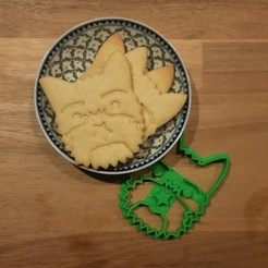 Untitled.jpg Download free STL file Yorkie with a Star Cookie Cutter • 3D printer template, Mixination