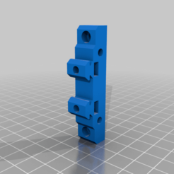 2040_basic_mount.png Download free STL file v-slot mounting bracket • 3D print template, 3bdezign