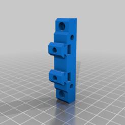 2040_basic_mount.png Télécharger fichier STL gratuit support de montage à fente en V • Objet à imprimer en 3D, 3bdezign