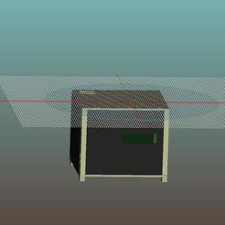 Download free 3D print files laser enclosure (WIP), 3bdezign