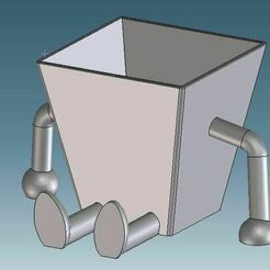 Captura1.JPG Download STL file CONTAINER 100x100 • 3D printing object, 3DJVC
