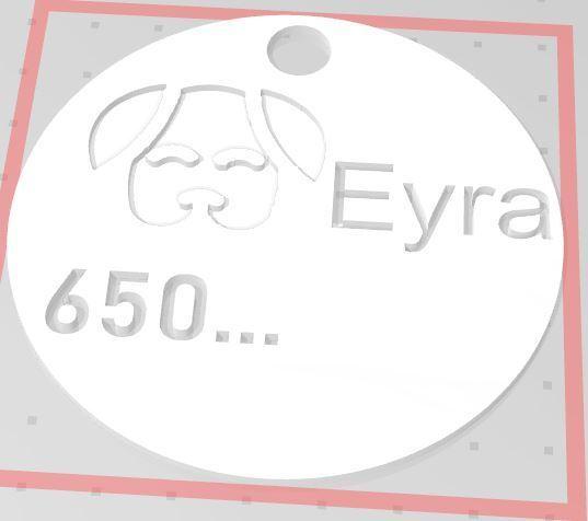 3.JPG Télécharger fichier STL gratuit Plaque d'identité personnalisée (Plaque d'identité personnalisée) • Objet à imprimer en 3D, marumar