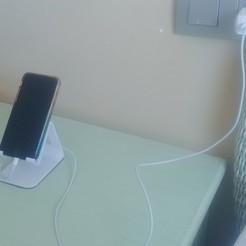 20200621_142529.jpg Télécharger fichier STL Base de carga movil minimalista • Modèle pour imprimante 3D, marumar