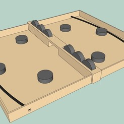 Download free STL Table hockey, S_5709
