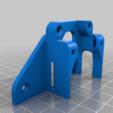 speedDrive_BantaMount_base.png Télécharger fichier STL gratuit Base BantaMount pour SpeedDrive v1 - Support à entraînement direct Ender 3 • Design à imprimer en 3D, fakcior