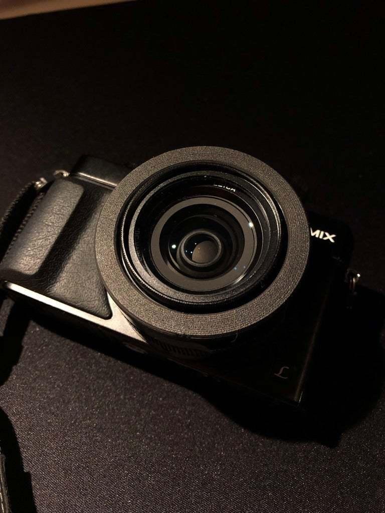 IMG_4116.jpg Download free STL file Panasonic Lumix LX100 Lens RIng • 3D printable object, fakcior