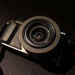 Download free 3D printing files Panasonic Lumix LX100 Lens RIng, fakcior