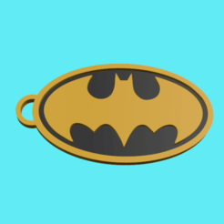 Sin título.png Download STL file Batman key chain • 3D printable model, ManelRos