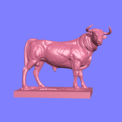 1.png Download STL file Bull • Object to 3D print, ManelRos