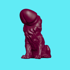 Download 3D print files Lion Cock, ManelRos