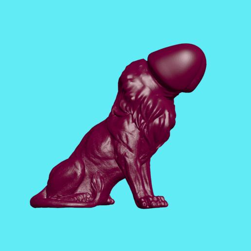 c.png Download STL file Lion Cock • 3D printable object, ManelRos