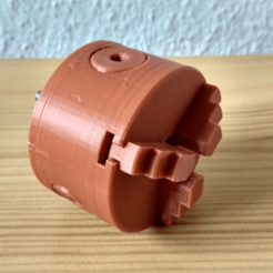 Download free STL file 3 Jaw Lathe Chuck but with tolerances • 3D printable design, tomasdrobil