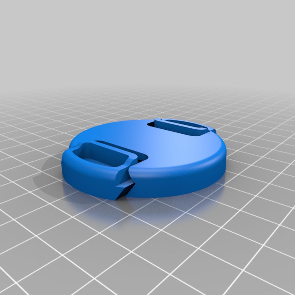 Lens_cap_55mm.png Download free STL file Lens cap 55 mm • 3D print template, tomasdrobil