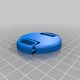 Télécharger fichier STL gratuit Bouchon de l'objectif 55 mm • Design pour impression 3D, tomasdrobil