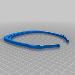 Download free 3D printing models mask frame CoVid19, ibongaroa