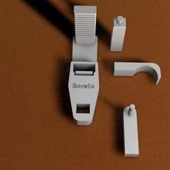 Download free 3D printer templates Curtain Hook, ibongaroa