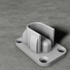 Download free 3D printer model Cabinet bar support, ibongaroa