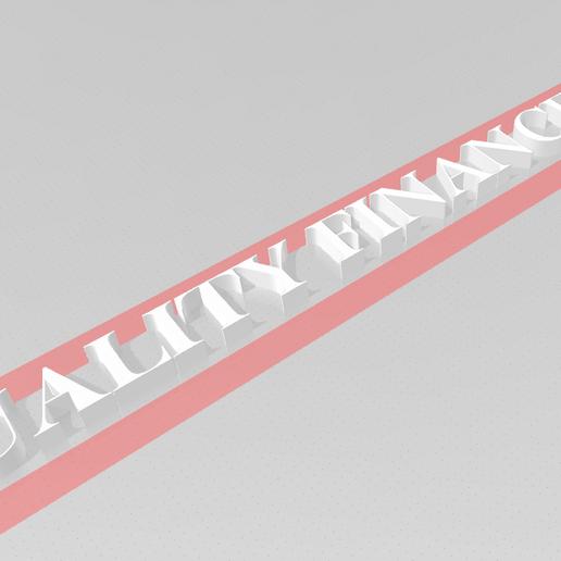 Download 3D-printontwerpen Quality Finance, 3Dvisum