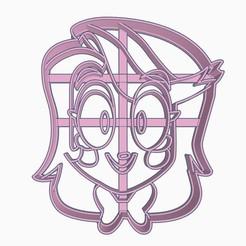 charliesubir1.jpg Download STL file Charlie Helluva Boss / Hazbin Hotel Cookie Cutter • 3D print model, Negaren