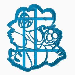 Télécharger fichier 3D Coupe-biscuit Totodile Pokemon Anime Chibi, Negaren