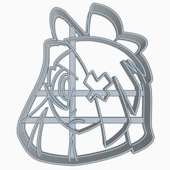 vaggie1subir.jpg Download STL file Vaggie Helluva Boss / Hazbin Hotel Cookie Cutter • Object to 3D print, Negaren