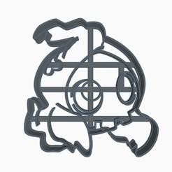 dullsubir1.jpg Download STL file Duskull Cookie Cutter Pokemon Anime Chibi • 3D printer template, Negaren