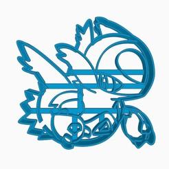 latiossubir3.jpg Descargar archivo STL Latios Cookie Cutter Pokemon Anime Chibi  • Objeto para imprimir en 3D, Negaren