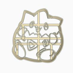 togepisubir1.jpg Télécharger fichier STL Togepi Cookie Cutter Pokemon Anime Chibi • Plan à imprimer en 3D, Negaren