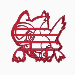 lariassubir1.jpg Descargar archivo STL Latias Cookie Cutter Pokemon Anime Chibi  • Modelo para la impresora 3D, Negaren
