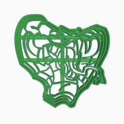 Download free 3D print files Cookie Cutter counter strike global offensive sticker Toxic Feral Predators Capsule, Negaren