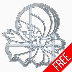 Télécharger fichier STL gratuit Gardevoir Pokemon Anime Chibi Cookie Cutter • Design imprimable en 3D, Negaren