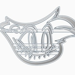 angel1subir.jpg Download STL file Angel Dust Helluva Boss / Hazbin Hotel Cookie Cutter • Object to 3D print, Negaren