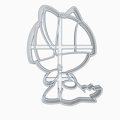 raltssubir1.jpg Télécharger fichier STL Ralts Pokemon Cookie Cutter Chibi Anime • Plan pour imprimante 3D, Negaren
