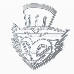 stolas3subir.jpg Download STL file Stolas Helluva Boss / Hazbin Hotel Cookie Cutter • Template to 3D print, Negaren