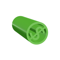 Download 3D model Filter Tip: Regular Dollar Tip, stonerheadx