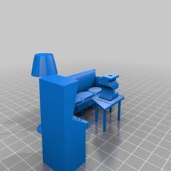 Download 3D printing files Living Room, davlasvegas