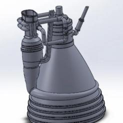 Télécharger fichier STL gratuit Moteur de fusée F1 • Plan à imprimer en 3D, davlasvegas