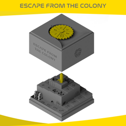Download STL file ESCAPE FROM THE COLONY • 3D print template, onlojik