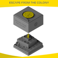 EFC (1).png Download STL file ESCAPE FROM THE COLONY • 3D print template, onlojik