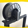 Download free STL file Basic Filament Holder  • 3D print model, onlojik
