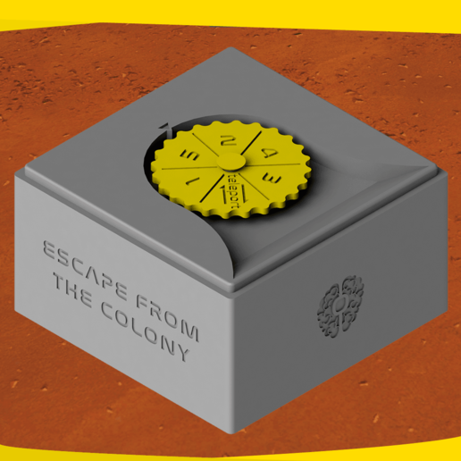 EFC (3).png Download STL file ESCAPE FROM THE COLONY • 3D print template, onlojik
