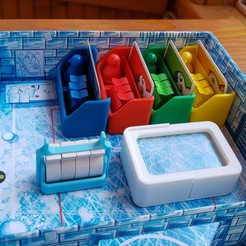 Download 3D printing models Ice Cool Board Game Insert Organizer, TidyGamer