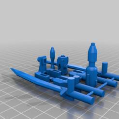 Télécharger fichier STL gratuit TF WFC - Earthrise - Kit d'aide à la mobilité • Objet pour imprimante 3D, TheSledgeHammer