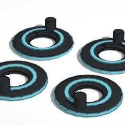 Télécharger fichier STL gratuit Disques d'identification Tron de 5 mm - Transformateurs de classe luxe à l'échelle • Objet pour impression 3D, TheSledgeHammer