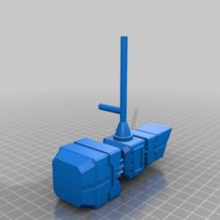 Télécharger fichier STL gratuit TF Generations WFC - Le siège 1 a reçu le marteau Magnus • Objet pour imprimante 3D, TheSledgeHammer