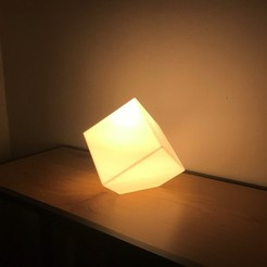 Download 3D printer model The 3D Smith's - The Cube Lamp, the3dsmith
