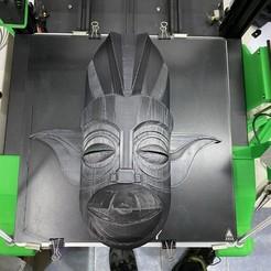Download STL file Tiki Star Wars Master Yoda • Design to 3D print, Tanit
