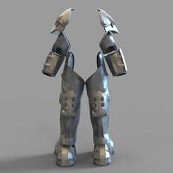 X01.29.jpg Télécharger fichier STL Armure de protection électrique Fallout X-01 Portable aux jambes et aux bras • Plan à imprimer en 3D, 3dprintuniverse