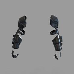 Download 3D printer model Batman Armored from Batman VS Superman Movie Arms Part, 3dprintuniverse